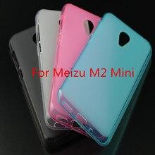 Для meizu m2 mini case 5 дюймов ultra slim fit мягкий прозрачный и матовый тпу телефон обложка для meizu m2 mini