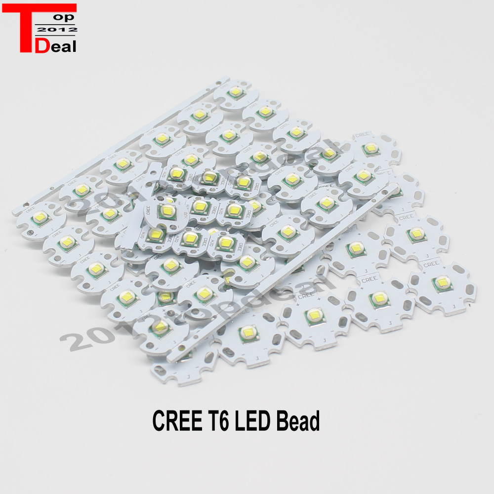 Home original cree xm l2 xml2 led emitter lamp light cold white - 10 Pcs Cree Xml Led Xm L T6 10w White High Power Led Emitter With