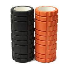 HOT 33cm Fitness Foam Yoga Pilates Roller Blocks Gym Message Trigger Point Roller For Training Exercise Workout Body Building