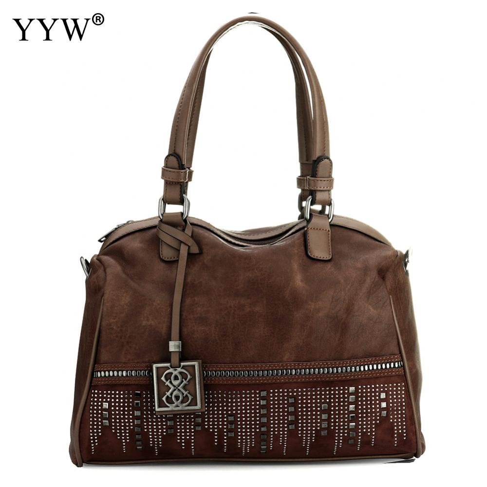 Large Capacity Famous Brand Handbag Fashion Women Tassel Shoulder Bag Pu Leather Female Big Casual Tote Bag women bag set top handle big capacity female tassel handbag fashion shoulder bag purse ladies pu leather crossbody bag