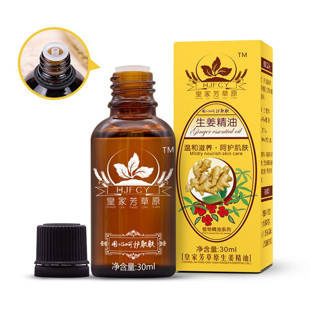 Natur Anlage Therapie Lymphdrainage Ingwer Öl Natürliche Anti Aging Ätherisches Serum Körper Massage Gesicht Hautpflege DropShipping