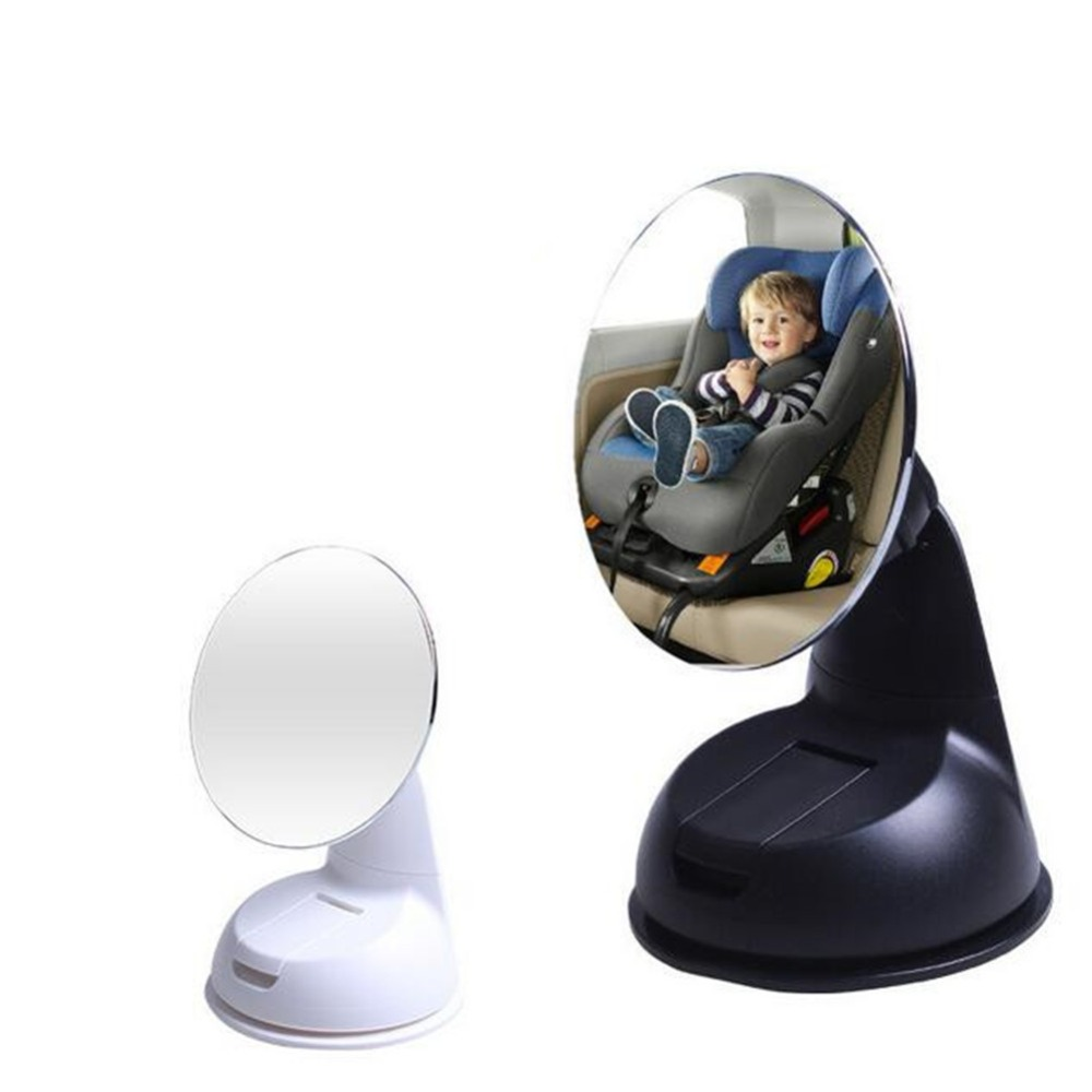 Car Styling Baby Mirror Easy View Back Seat View Monitor Mirror Rotation Car Safety Mirror Car Accessories for Baby Kids Infant