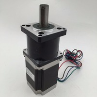 Nema23 Planetary Gear Stepper Motor Gearbox Ratio 30:1 57mm L76mm 3A CNC Engraving Lathe Milling