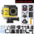 Новейшие F60R Действий камеры 4 К 30fps Wi-Fi Allwinner V3 Водонепроницаемый Пульт Дистанционного управления go pro Спорт Камеры Мини-Камера Gopro hero 4 стиль