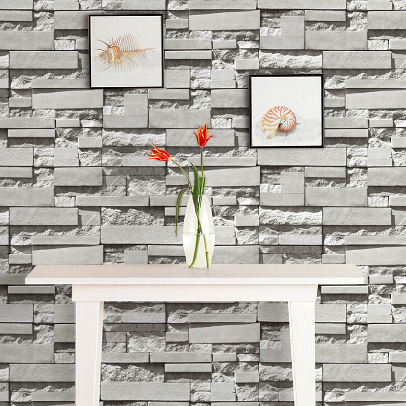 wallpaper wallpaper 3d papel de parede modern background wall paper roll brick for living room home decoration at R221 modern luxury stone brick wall 10m vinyl wallpaper roll papel de parede 3d living room background wall decor art wall paper