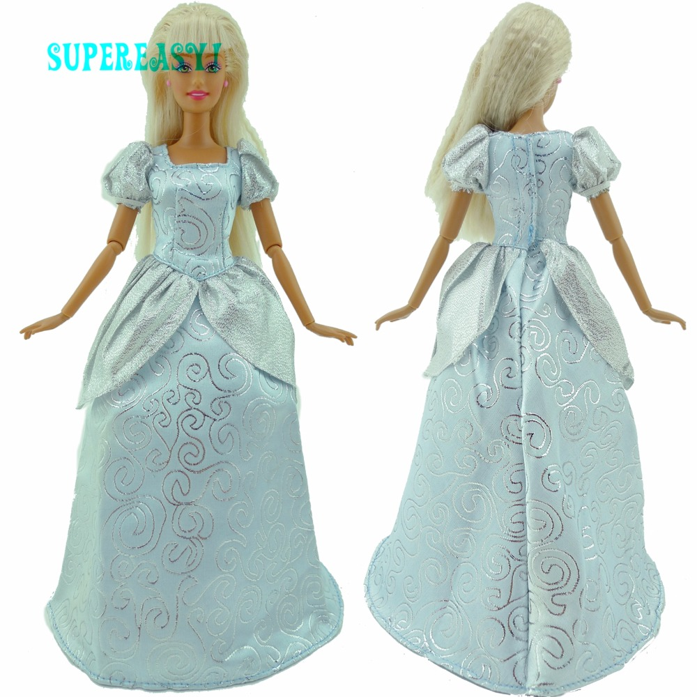 Beauty Dress Dancing Party Gown Princess Costume Dollhouse ...