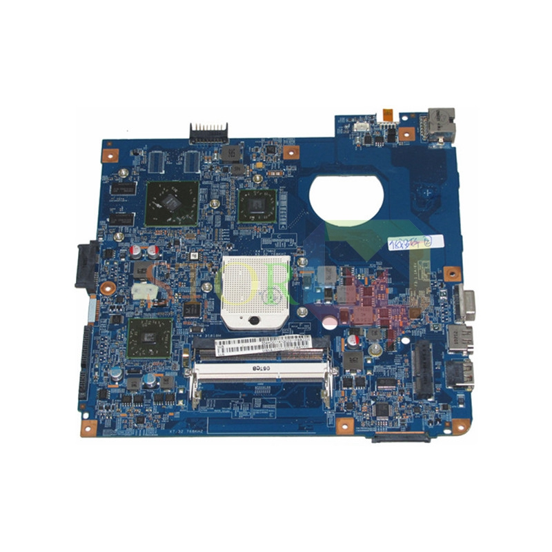 NOKOTION For Acer aspire 4551 4551G Laptop Motherboard MB.N9J01.001 MBN9J01001 48.4HD01.031 HD 5470 DDR3 Free CPU mbn9j01001 mb n9j01 001 for acer aspire 4551 4551g d640 laptop motherboard 48 4hd01 031 ati hd5470 socket s1 ddr3