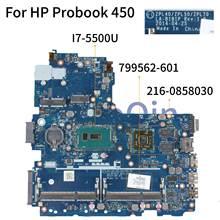 KoCoQin laptop Motherboard For HP Probook 440 450 G2 I7-5500
