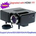 Высокое качество из светодиодов мини-проектором портативный Proyector tft-hdmi USB SD встроенный динамик Videoprojecteurs для игр Wii PS2 лучший подарок