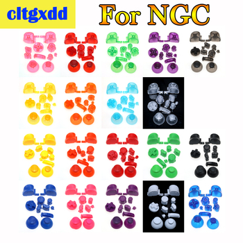 cltgxdd Full Button Sets Mod Replace Dpad ABXY Trigger Parts For Gamecube For N GC Controller 3D Control cap image
