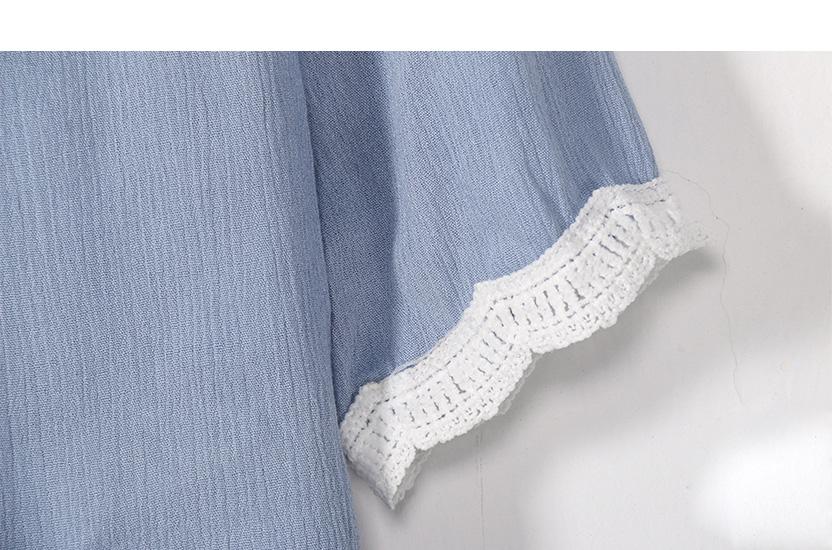 Off Shoulder Sexy Women Blouses White Lace Patchwork 2017 Summer New Arrival Slash Neck Ladies Chiffon Shirts Plus Size Tops 2XL 12