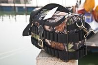 Gun Hunting Cartridge Bag Camo Side 12Gauge Ammo Carrier Holds 100 Shells Cartridge Holder for Shooting One Set