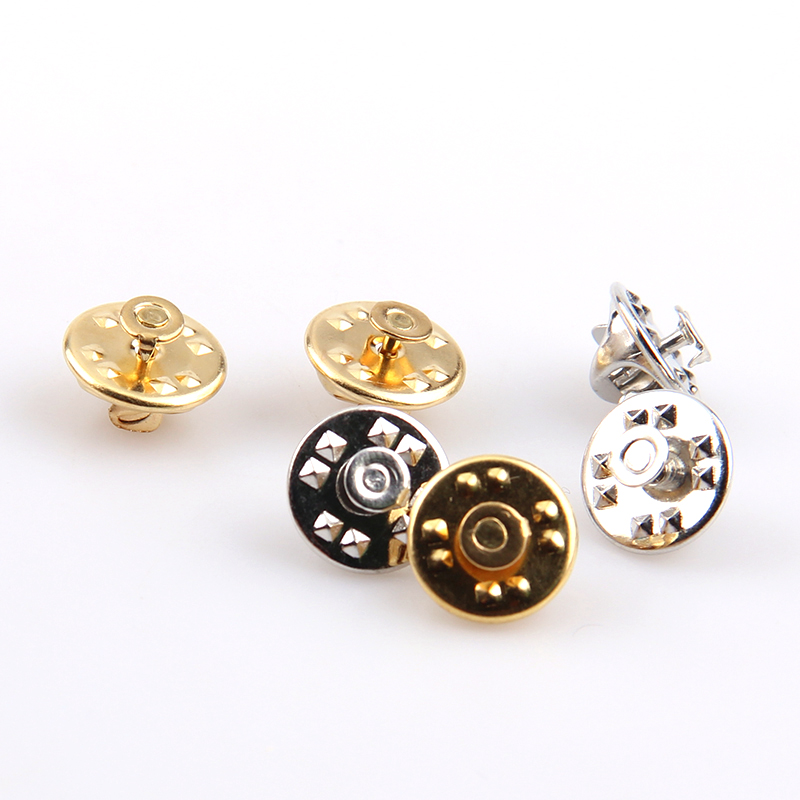 2017 New Fashion Silver&Gold Plated Iron Brooch Base Back ...