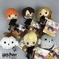 "New Cute Harry Potter Plush Toy Dolls Q Version Malfoy Hermione Dobby Owl Hedwig Plush Pendant Kids Birthday Gift toys 5""13 CM"