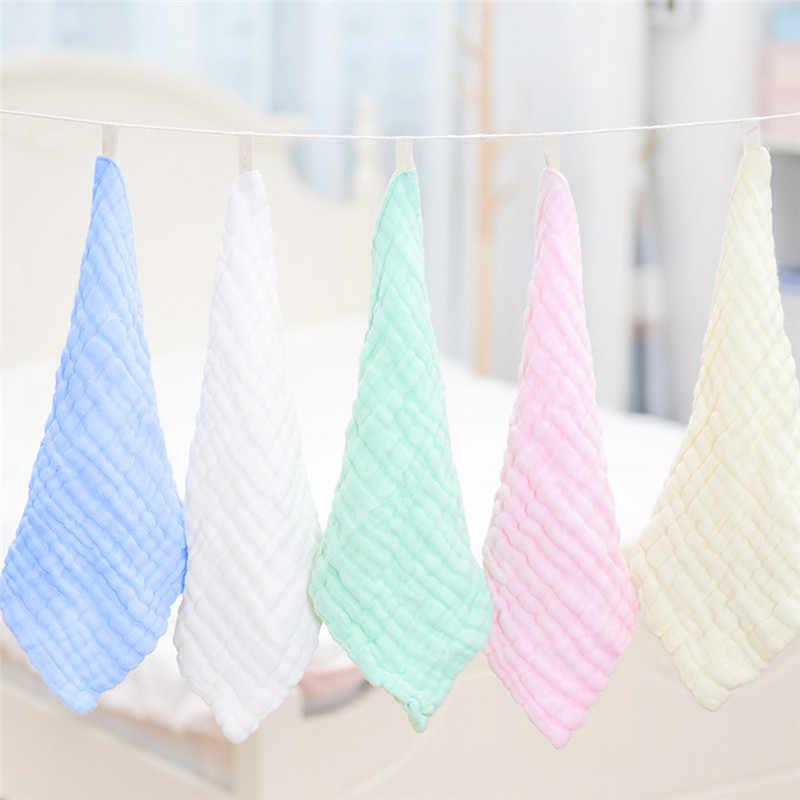 30 × 30 センチガーゼ綿ハンカチ正方形タオルモスリン綿拭く布なだめるタオル新生児用品