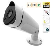 CCTV Security Camera CMOS 1080P Bullet Waterproof Outdoor 3.6mm IR Cut Night Vision CCTV Camera AHD Camera For AHD DVR