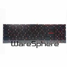 95% new and Original UK Red Backlit Keyboard For MSI GT72 GL62 GV62 GS60 GS70 6QE V143422AK 09JM0030 V143422KK1 new jspan laptop keyboard for for msi steelseries gt72 gs60 gs70 ws60 ge62 ge72 jp keyboard backlit
