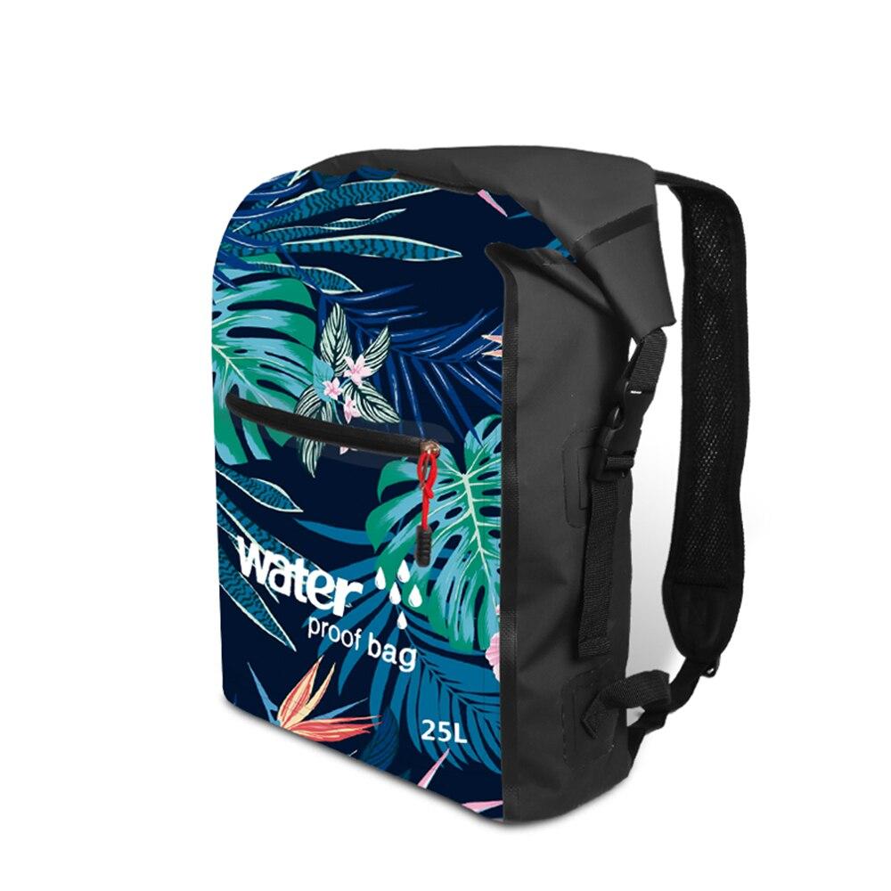 SZX New 25L Outdoor Waterproof Swimming Bag Bucket Dry Sack Storage Bag Rafting Sports Kayaking Travel Waterproof Backpack