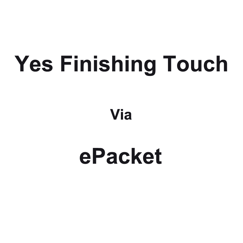 Yes Finishing Touch via ePacket