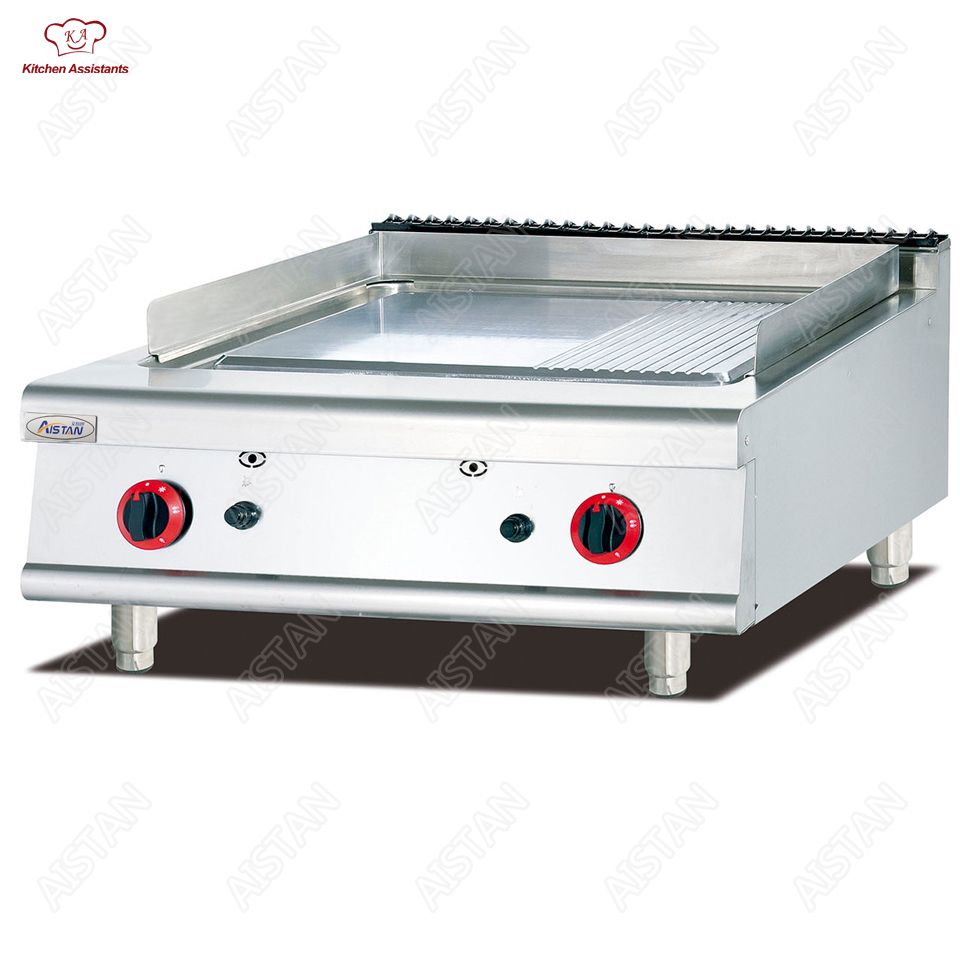 GH Series combination oven cooking range griddel grill gas burners for commercial kitchen gh2 gas range with 2 burner for commercial use