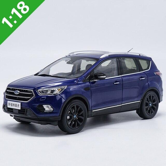 1 18 Ford Kuga Escape Sport Edition 2018 Blue Suv Alloy Diecast