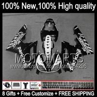 Black white Body !Body For TRIUMPH Daytona 675 12 13 Daytona675 NEW Black white 42JK1 12 13 2012 2013 Fairing Kit