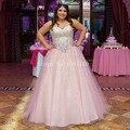 Rosa Vestidos de Quinceañera Crystal Trajes De Quinceañeras Vestidos De 15 Anos Debut Del Amor Vestidos de Bola Vestido Debutante