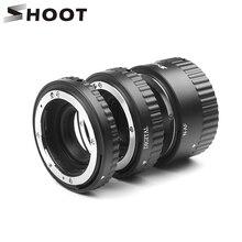 לירות אוטומטי פוקוס מאקרו Tube הארכת טבעת עבור ניקון D7200 D5600 D5500 D5300 D3400 D3200 D3100 D7100 D90 D60 AF AF S מצלמה עדשה