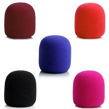 10pcs Colorful Wireless Handheld Stage Microphone Windscreen Foam Mic Cover Karaoke DJ Microfone Sponge Pop Filter Wind Shield