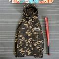 Thrasher Jacket Women Man 1:1 High Quality Thrasher Thin Coat Yeezy Camouflage Thrasher Jacket