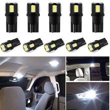 10x W5W LED T10 Đèn LED Xe Hơi Ô Tô Đèn Định Vị Ô XC60 XC90 S60 V70 S80 S40 V40 V50 XC70 V60 c30 850 C70 XC 60 Đèn LED Tự Động 12V