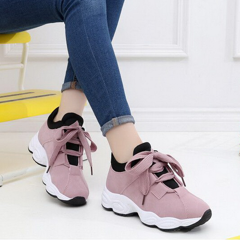 Women Sneakers 2019 Spring Summer Leather Woman Flats Shoes Fashion Sweet ladies platform Breathable Shoes Women Casual ShoesWomen Sneakers 2019 Spring Summer Leather Woman Flats Shoes Fashion Sweet ladies platform Breathable Shoes Women Casual Shoes