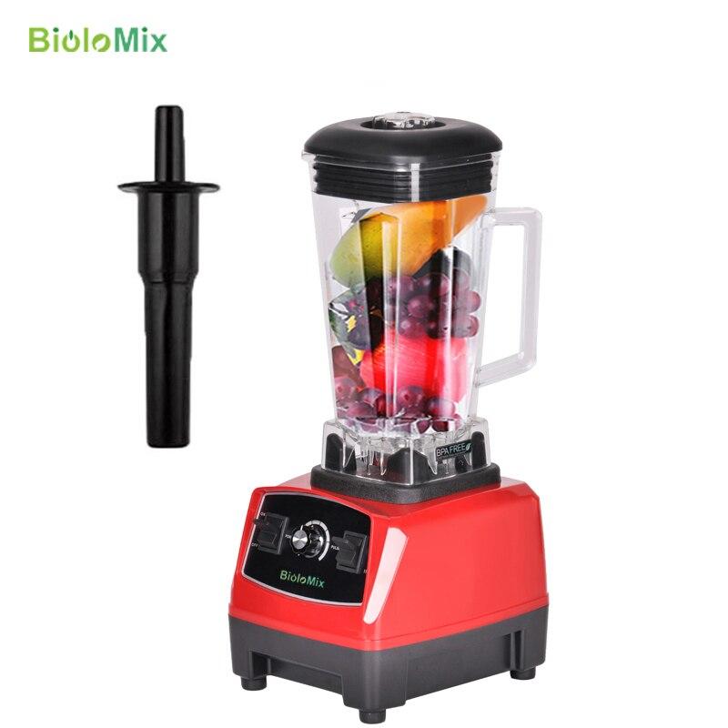 Biolomix 2200 Вт 2L BPA бесплатно коммерческого класса Главная Профессиональные коктейли питания блендер миксер соковыжималка Пищевой фрукты процессор