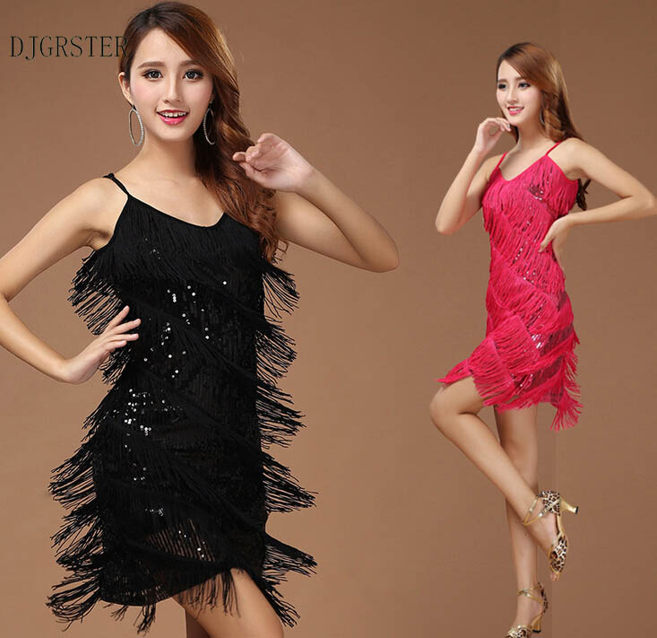 Women Latin Dance Dress Women Ballroom Dancing Dresses Latin Dance Costume Dance Latin Dresses Tango Dress Samba SkirtsGRS-38412