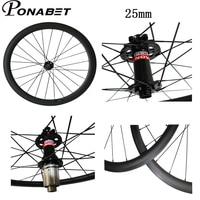 PONABET 25 мм ширина 700C 38 мм/50 мм/60 мм/88 мм довод/трубчатая Новатек диск колеса углерода hot wheels через ось или Q/R версия