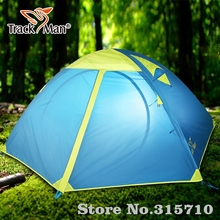 Tarckman professional mountain Camping Tent 2 Person One Bedroom Double Layers 3 Season Tent Outdoor Tent family travel use