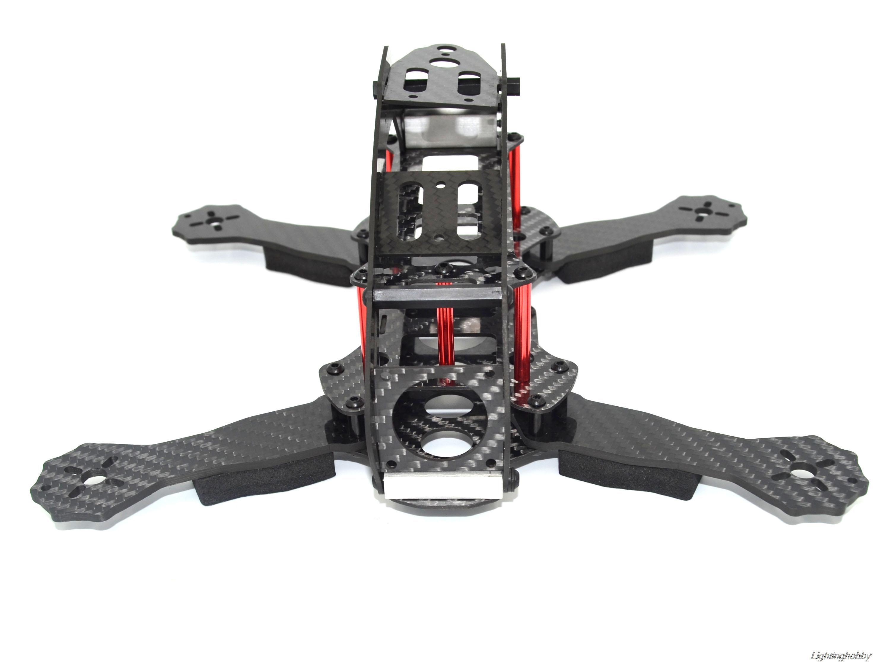FPV drone Robocat 270mm Mini 4 eje marco completo de fibra de ...