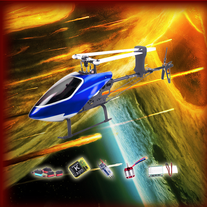 Gartt 500 DFC TT RC Helicopter/scale model/drone/air plane (Torque Tube) Version Super Combo