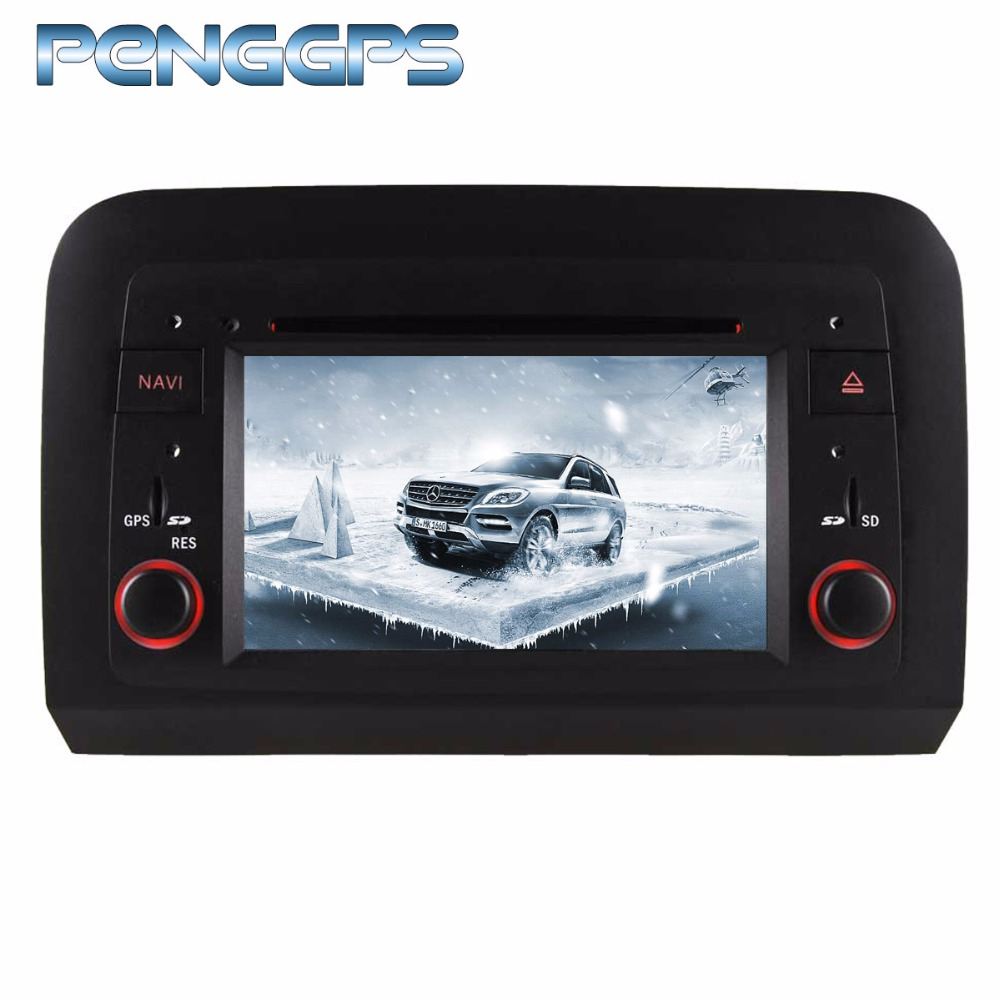 8 Core 2 Din Auto Radio Android 8.0 CD DVD Player per Fiat Croma 2005-2012 di Navigazione GPS Autoradio unità principale USB WIFI 1080 p Video