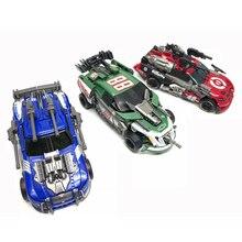 Dönüşüm Leadfoot GOD03 TANRı 03 Roadbuster GOD07 TANRı 07 Topspin GOD10 TANRı 10 Tamirci Film Deluxe Eylem figürü robot oyuncaklar