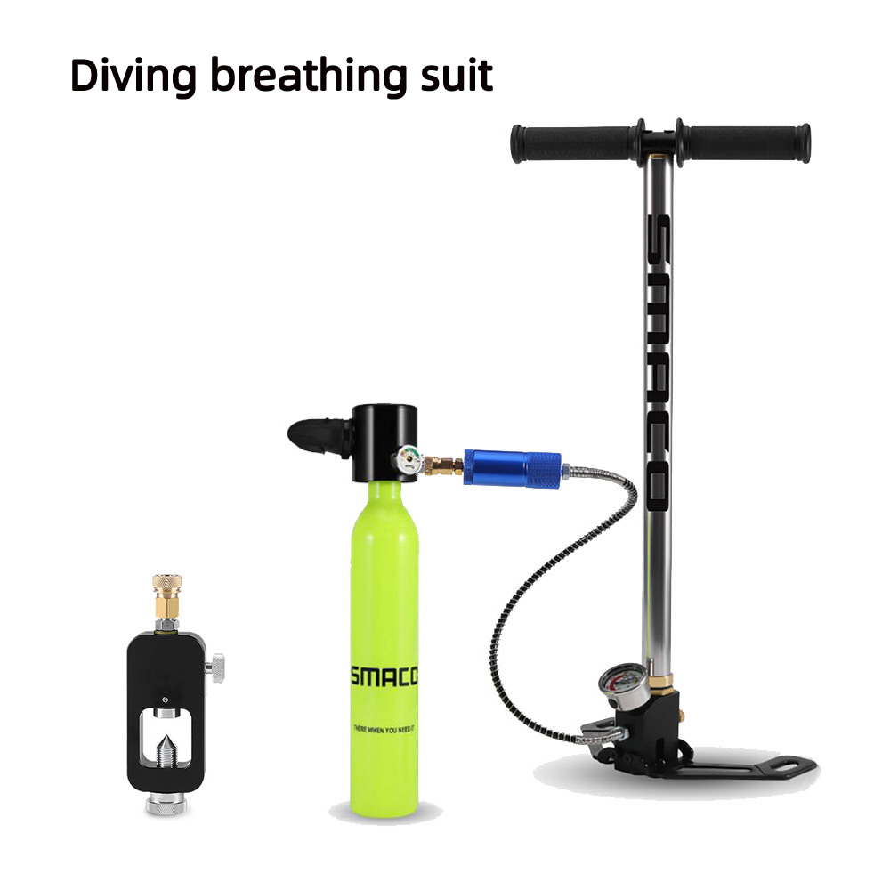 0 5L Diving Equipment Mini Diving Scuba Cylinder Air Tank Valve Respirator Box For Snorkeling Underwater Breathing Accessory in Snorkels from Sports Entertainment