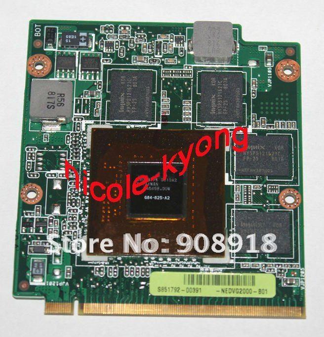 цена на 08G28AS0313I NLPVG1000-B01 VGA A8S NB8P DDR2 BD REV 1.3 9500M GS G84 625 A2 VGA Video card for ASUS F8S F8SN