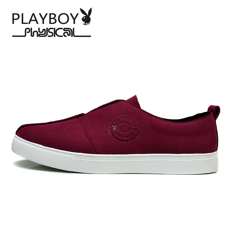 c175ab7abbe118 PLAYBOY Brand Men s Shoes New Autumn Casual Shoes For Man Sport Outdoor  Canvas Shoes Zapatos