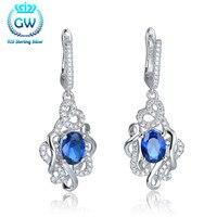 925 Серебряные серьги с Камни означающее Forever Love Серьги для Для женщин бренд gw Jewellery fe382 90