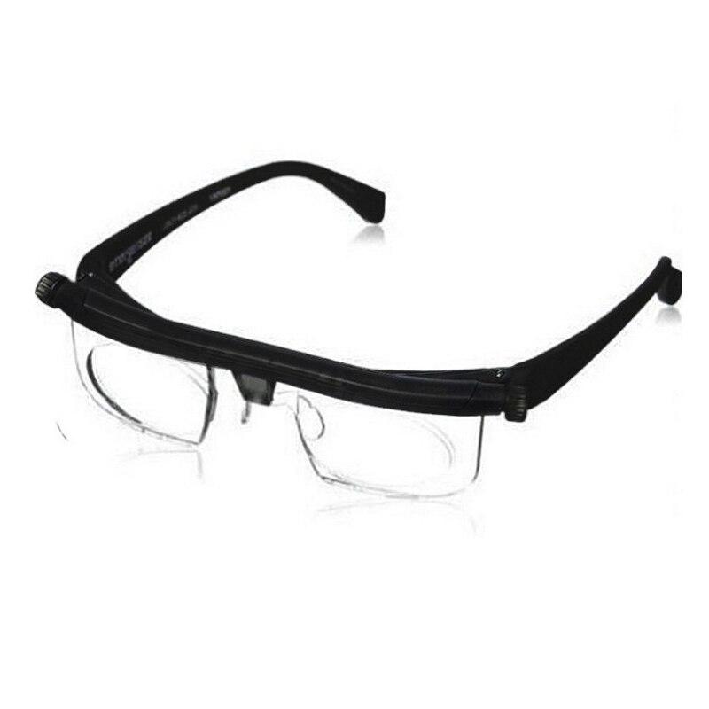 Vision Mise Au Point Réglable Lunettes de Lecture Myopie Lunettes-6D à + 3D Variable Lens Correction Binoculaire Loupe Porta Oculos