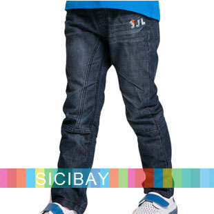 Retail Children Autumn New Clothes Boys Jeans Fashion Kids Pants,Spring Wear,Free Shipping K2191