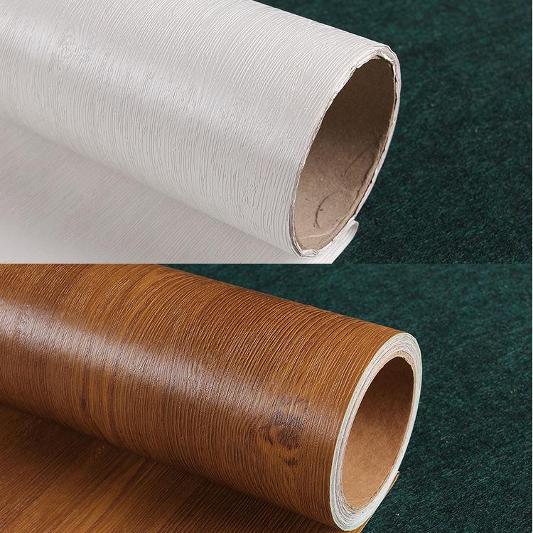 Waterproof vinyl wall paper furniture wardrobe door for Vinyl waterproof wallpaper