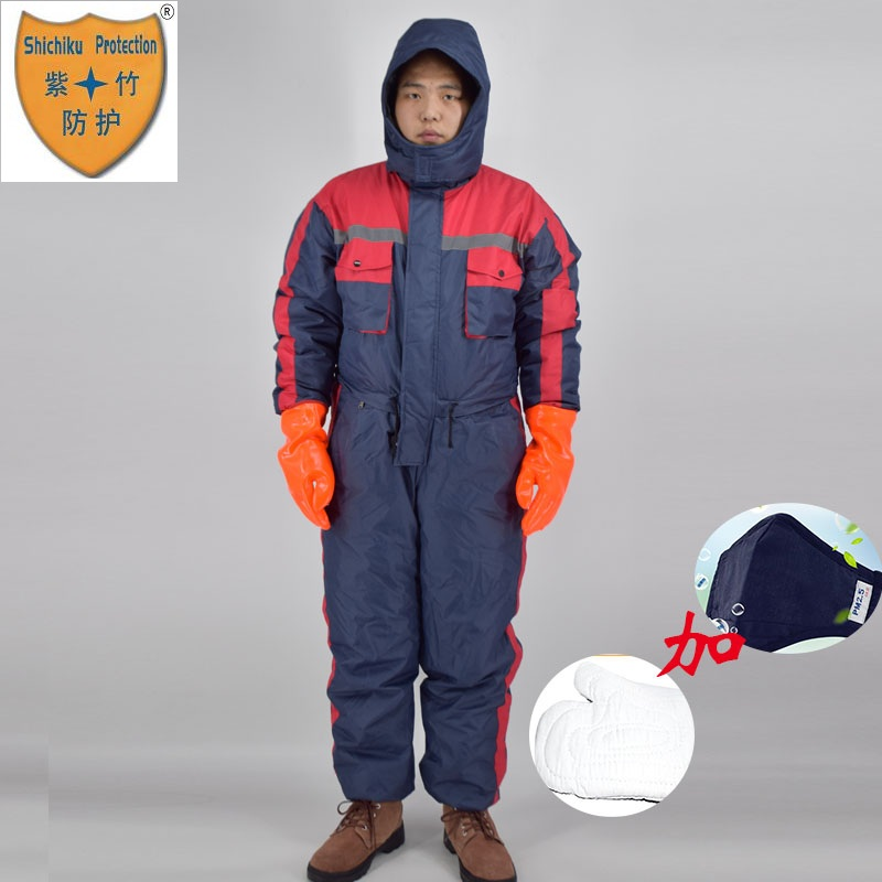 High Quality  Cold-proof Waterproof Thermal Clothing used in cooler.High Quality  Cold-proof Waterproof Thermal Clothing used in cooler.