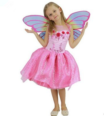 Colorful Butterfly Costume For Girls Kids Child Fairy In Costumes From Novelty