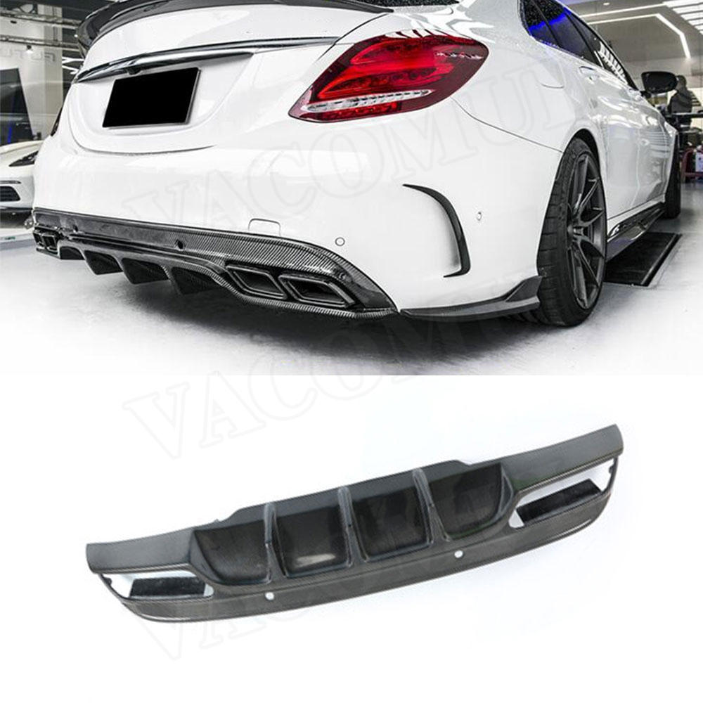 Carbon Look Car Rear Spoiler Mini Wing Small Model GT Style